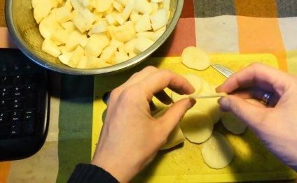 Как сушить картошку в поход