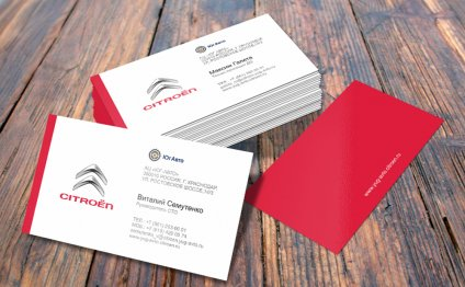 Печать визиток на дизайнерской