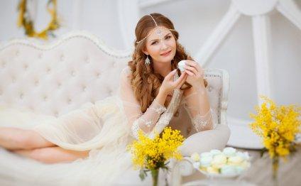 Мёд и мимозы на WeddingDaily
