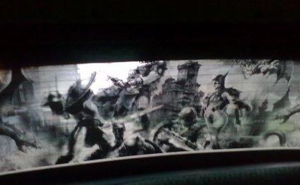 Шелкография на стекле